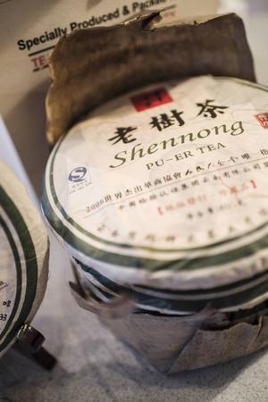 Lagrat te, som kallas pu-er, är trendigt just nu. Enligt Amanda Hemmingsson är det gott tillsammans med starka ostar.
