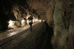 Backen upp ur gruvan var tre kilometer lång.