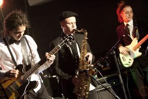 Gävlebaserade jazzkvintetten Black Coffee Quintet fick också en finalbiljett.