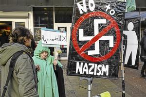 Inte bara en rättighet. Vi har inte bara rätt, utan också skyldighet att slå tillbaka och reagera mot nazismen, skriver Per Eriksson, kommunalråd i Askersund. Arkivfoto: Anders Wiklund/TT