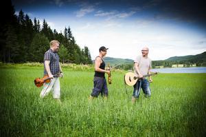 Folkmusikgruppen Draupner kommer hem till Hälsingland och medverkar på Tjernobyldagen i Träkyrkan.