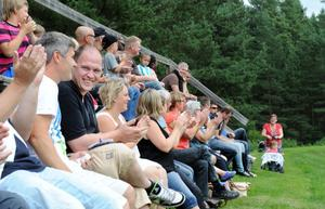 Många såg matchen.