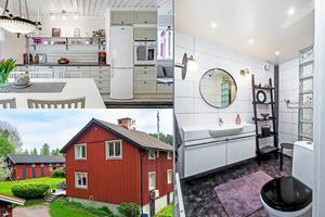 Den här 6-rumsvillan på Adriansbergsvägen 10 i Falun har ett utgångspris på 2 975 000 kronor.