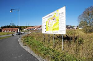 Valdeltagandet i Glasberga sjöstad var betydligt högre i höstens val till riksdag, landsting och kommun än i Europaparlamentsvalet i maj. Foto: Mats Andersson