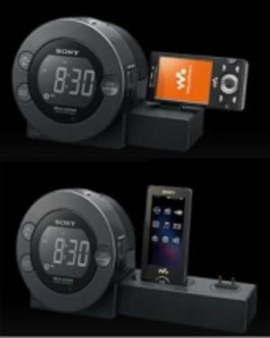 Test: Sonys klockradio laddar mobilen