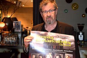 Ordförande i Svenska Deckarfestivalen, Tomas Melander, menar att årets arrangemang är det bästa hittills.