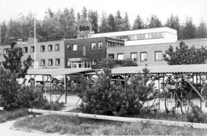 ÖSA-fabriken på bild från maj 1984.