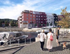 Den fjärde dyraste bostadsrätten är en femrummare på 137 kvadratmeter i Inre hamnen för 4 995 000 kronor. Byggherre är Skanska.