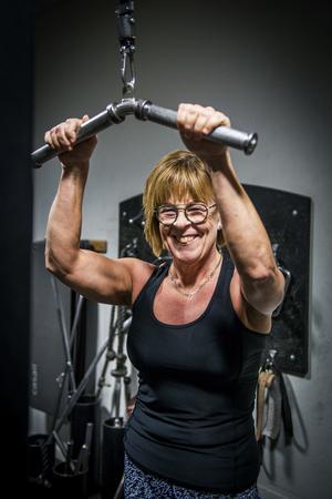 Maud Lundqvist har hittat en livsstil som hon mår bra av. Hon tränar 4-5 gånger i veckan och tänker på vad hon äter.