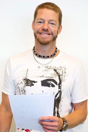 Magnus Brolin, lärare vid Stora Mellösa skola.