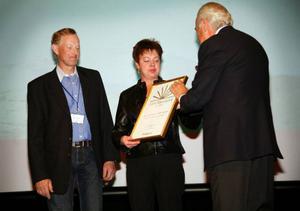Företagarparet Karl och Pia-Lena Engblom fick ta emot priset som Årets företagare i Åre kommun 2009 från näringslivsikonen Jan Carlzon. Tidigare vd i Vingresor och SAS och som i dag är ordförande för Företagarna i Sverige.