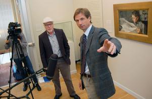 Inför tre stora Zornutställningar i USA intervjuas museets chef Johan Cederlund av ett amerikanskt TV-team med Joshua V Hassel i spetsen. Det ska bli en Zorndokumentär, som ska visas på de tre berörda museérna samt i amerikansk TV.