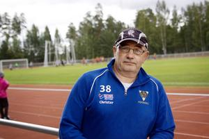 Bollnäs GIF/FF:s ordförande Christer Eriksson tror på en ljusare framtid för klubben. Foto: Martin Östergårds