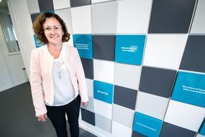 Helena Hedblom tror mycket på det kommande bolaget Epiroc: