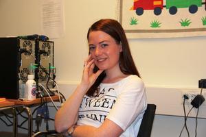 Ida Hensler läser på psykologprogrammet, men jobbar nu som forskningsassistent.