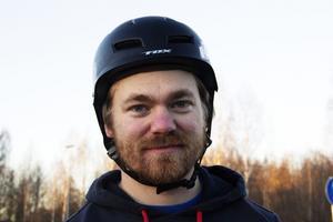 Richard Van Wijhe lyckades inte ta sig vidare från sitt tidskval, trots att han åkt riktigt bra i träningsåken och tidskvalen.
