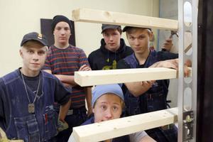 Byggutbildningen på Trägymnasiet i Ljusdal lockar många sökande. Inför årets terminsstart var det 47 sökande till programmets 16 platser.