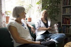Annika Edin och Karin Berg Klaving.