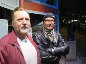 Peter Alzén och Anders Sundin får dela på 25 000 kronor för att jobba vidare med bokprojektet