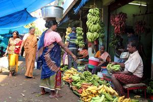 Thiruvananthapuram, Keralas huvudstad med knappt två miljoner invånare.