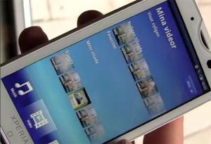 Webb-tv: Sony Ericsson X10