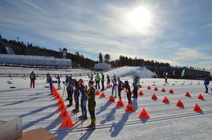 Start  Lilla Skidspelen på Lugnet 2017