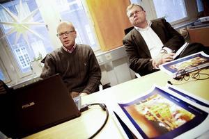 Byggnadsantikvarie Anders Stjernström har på uppdrag av fastighetsägaren Norrvidden utrett förutsättningarna för att behålla Centralpalatset.