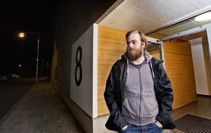 """Trivs med rökfritt. """"Om jag flyttar härifrån vill jag bo i ett rökfritt hus igen"""", säger Sebastian Darrell."""