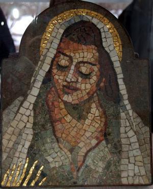 Madonna. Mosaik 1961.