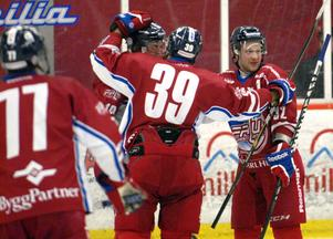 Falu IF:s andrafemma stod för 13 poäng i 5–1-segern mot Hedemora SK.