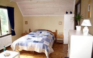 Rummet för hela familjen med våningssäng i ett sidorum.FOTO: HANS BLOOM
