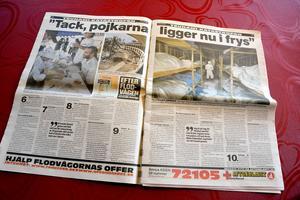 Jonny Axelssons arbete blev omnämnt i tidningarna.