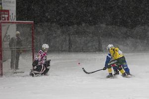 Ljusdal föll med 1–5 mot Vänersborg på ett snöigt IP.