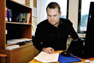 Kent Ylvesson, skolchef på Ånge kommun.