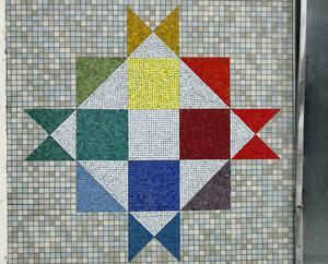 Mosaik som räddats till eftervärlden.