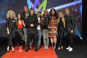 Hela startfältet i Melodifestivalens deltävling i Malmö _ Wiktoria, Isa, David Lindgren, Tommy Nilsson, Patrik Isaksson, Uno Svenningsson, Molly Pettersson Hammar, Krista Siegfrids samt Victor & Natten.