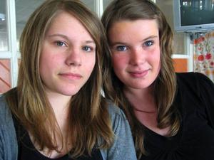 Erika Grundström och Sanna Hestner tävlar i Musik Direkt i kväll. De kommer spela tre egna låtar.