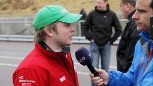 Alexander Danielsson kör i helgen en Camaro för första gången i karriären.Arkivbild: DMS