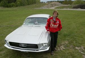 Ove Eriksson med sin Ford Mustang Hard Top 1967.