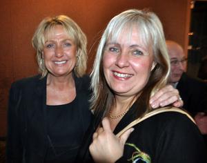 Eva Eriksson och Carina Redin växte upp i Ljusne tillsammans. Att missa Whys återförening fanns inte på kartan.