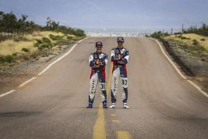 Joni Wiman och Sebastian Eriksson representerar OMSE i den amerikanska GRC-serien. Foto: Qnigan.com