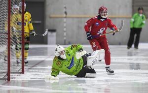 Henrik Rehnvall under World cup i Sandviken i höstas.