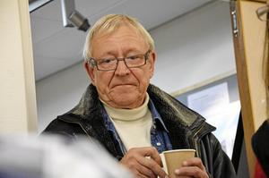 Björn J:son Lindh tog lite fika.