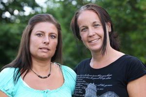 Jeanette Rosengren och Martina Bergman från Hjälptill.nu.