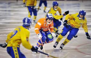 Nyförvärvet Per Hellmyrs visade at han blir en tillgång för Bollnäs den kommande säsongen.