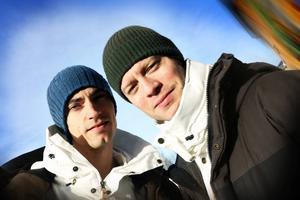 Gustaf Norén och Björn Dixgård från Mando Diao berömde barnens insats.