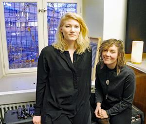 Ylva Eriksson och Hanna Enlöf i Good Harvest släpper sitt debutalbum på Per Gessles nystartade skivbolag.