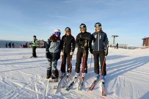 Jasmine Abulkheir, fysio för skicrosslaget tillsammans med Sandra Näslund, Victor