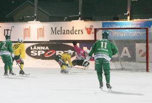 Tobias Björklund kvitterar till 4-4.