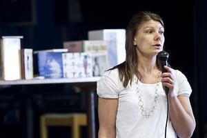 Anna-Lena Blixth, demenssjuksköterska, berättade om olika demenssjukdomar.